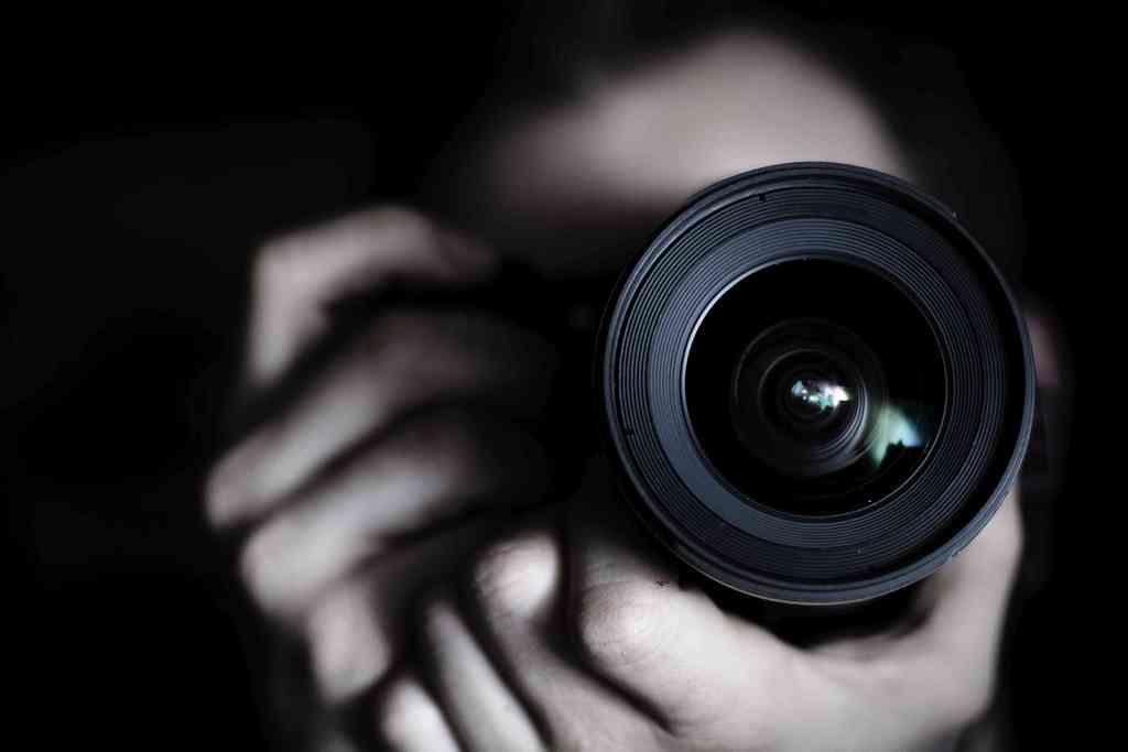 fotograf nachts - Fotoshooting